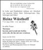 Heinz Wüsthoff