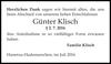 Günter Klisch