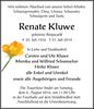 Renate Kluwe