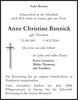 Anne Christine Bannick