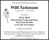 Willi Tackmann