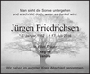 Jürgen Friedrichsen
