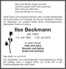 Ilse Beckmann