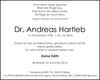 Dr. Andreas Hartleb