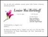 Louise Mai Birkhoff
