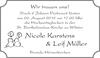 Nicole Karstens Leif Müller