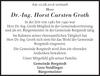 Dr.-Ing. Horst Carsten Groth