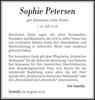 Sophie Petersen