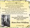 Hans-Peter Wildfang