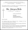 Dr. Jürgen Belz