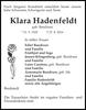 Klara Hadenfeldt