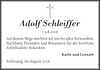 Adolf Schleiffer