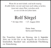 Rolf Sörgel