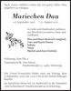 Mariechen Dau