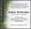 Adam Schlenker