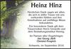 Heinz Hinz
