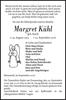 Margret Kühl