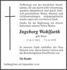 Ingeborg Wohlfarth