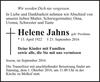 Helene Jahns geb. Prochnau