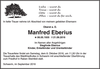 Manfred Eberius