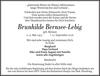 Brunhilde Bernsee-Lebig