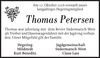 Thomas Petersen