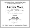 Christa Buck