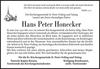 Hans Peter Honecker