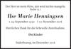 Ilse Marie Henningsen