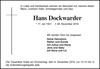 Hans Dockwarder