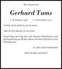 Gerhard Tams