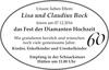 Lisa Und Claudius Bock