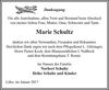 Marie Schultz