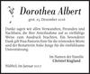 Dorothea Albert