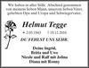 Helmut Tegge