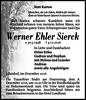 Werner Ehler Sierck