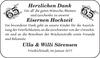 Eisernen Ulla Willi Sörensen