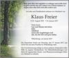 Klaus Freier