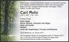 Carl Mohr