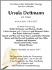 Ursula Dettmann
