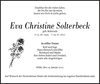 Eva Christine Solterbeck