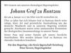 Johann Graf Zu Rantzau