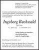 Ingeborg Buchwald