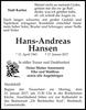 Hans Andreas Hansen