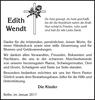 Edith Wendt