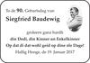 Siegfried Baudewig