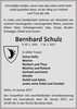 Bernhard Schulz
