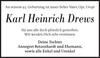 Karl Heinrich Drews
