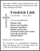 Friedrich Lüth