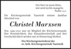 Christel Marxsen